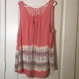 Sonoma light and flowy tank top